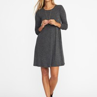 Textured-Knit Swing Dress for Women | Old Navy