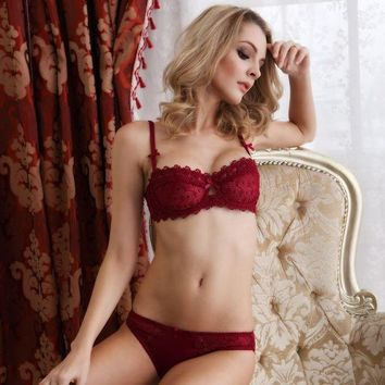 ac DCK83Q Drinks On Sale Coffee Hot Deal Cute Ladies Bra Set Transparent Luxury Embroidery Cup [41730474009]