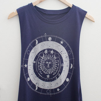 Celestial Muscle Tee