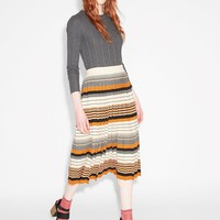 Monki | View all new | Pleated knit skirt