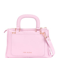 Stab stitch bag - Dusky Pink | Bags | Ted Baker ROW