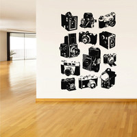Wall Decal Vinyl Sticker Decals Photo Professional Camera Studio Salon Retro Poster (z2127)