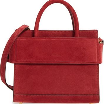 Givenchy Mini Horizon Suede Tote | Nordstrom