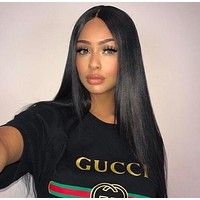 """""""Gucci""""Hot letters print T-shirt top H"""