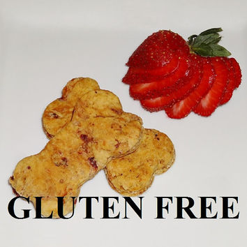 Strawberry Gluten Free Dog Treats