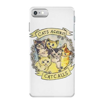 cats against cat calls iPhone 7 Case