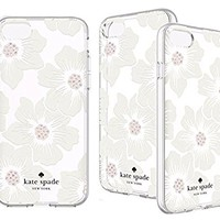 Kate Spade New York Flexible Hardshell for Apple iPhone 7 - Floral Clear