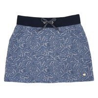 Indigo Quilted Jacquard Girls Quilted Jacquard Sweat Skirt by Juicy Couture,