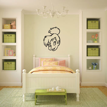 Tinkerbell Inspired Vinyl Wall Decal Sticker