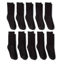 Hanes® Women's 10-Pack Red Label Crew Sock