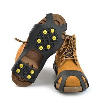 Non Slip Spikes Grips Climbing Safety  Shoes