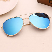 Fashion Aviator Sunglasses Women Men Brand Designer Male Sun Glasses For Women Lady Sunglass Female Mirror Glasses