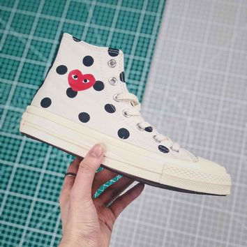 Cdg X Converse Chuck Taylor All Star 1970s High Top White - Best Online Sale