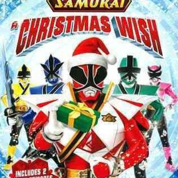POWER RANGERS SAMURAI:CHRISTMAS WISH