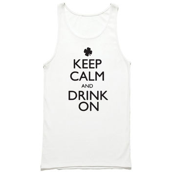 Keep Calm And Drink On Tank Top