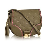 "LV ""Louis Vuitton"" Trending Women Tassel Single Shoulder CrossBody Handbag Rose Khaki I"