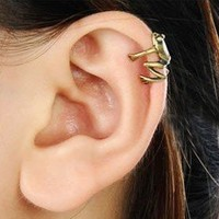 Vintage Little Frog Ear Cuff