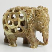 Soapstone Elephant - World Market
