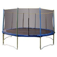 Pure Fun Trampoline Combo Set - Silver/ Blue (15')