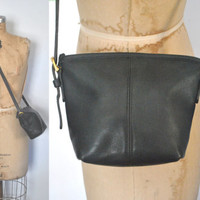 Coach Black Purse / Leather Small Bag