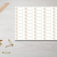 Wedding Event Appointment Planner Stickers Happy Planner HP ECLP IWP