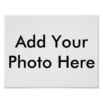 Design Your Own Custom Photo Poster
