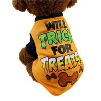 Small Dog Halloween Vest