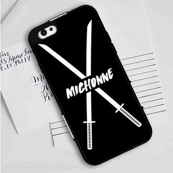 Michonne swords The Walking Dead iPhone Case