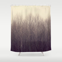 Forest Shower Curtain by RDelean