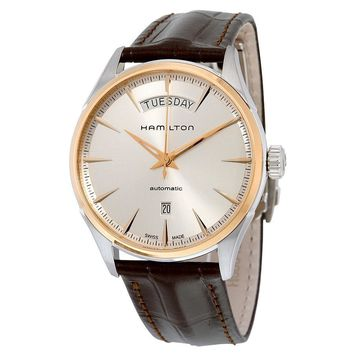 Hamilton Jazzmaster Silver Dial Automatic Mens Watch H42525551