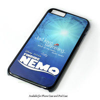 Finding Nemo I Touched The Butt Quote Design for iPhone 4 4S 5 5S 5C 6 6 Plus, and iPod Touch 4 5 Case