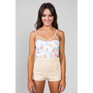 Pina Colada Crop Top