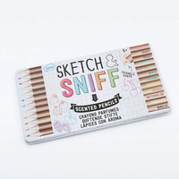 Sketch & Sniff Scented Colouring Pencils - Urban Outfitters