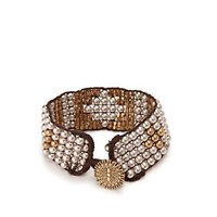 Two-Tone Beaded Cuff* - Accessories - Lucky Brand Jeans