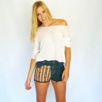 Zarah Tribal Shorts  |  Newport Madison