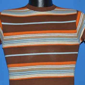 70s Sears Striped Surfer t-shirt Youth Large