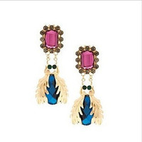 Pop Insect Drop Earrings
