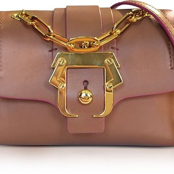 Paula Cademartori Kaia Monocolor Pecan Brown Shoulder Bag