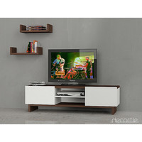 ZIO  TV Stand with  Wall shelving