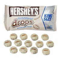 Hershey's Cookies 'n' Creme Drops Candy King Size Pouches: 18-Piece Bo