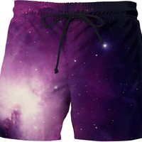 Space Nebula - Custom Swim Shorts