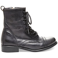 Steve Madden Charrie Combat Booties - Boots - Shoes - Macy's
