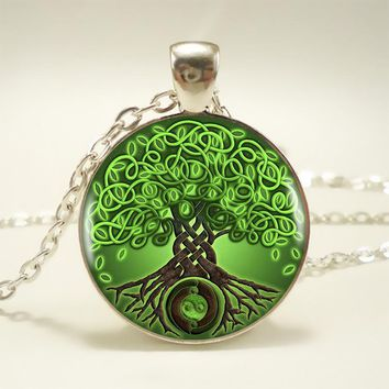 Celtic Tree of Life Pendant Necklace