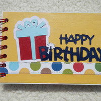 4x6 Birthday Mini Scrapbook Photo Album