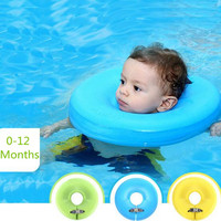 Mambobaby High quality safety baby need not inflatable floating ring round the neck round floating ring toy baby swimming pool