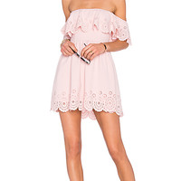 x REVOLVE Dream Vacay Dress in Pale Pink