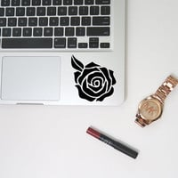 Luxury Chic Tribal Rose Flower Unique College Macbook/Laptop/Car/Tumbler/Notebook Vinyl Decal
