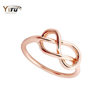 30pcs Hot Sale Heart Knot Ring Infinity Simple Ring Bijoux Femme Midi Knuckle Ring for Women R046