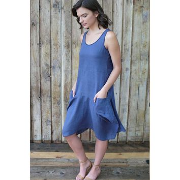 8d8b78febd3 Shop Natural Linen Dress on Wanelo