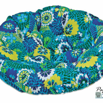 "42"" Papasan Cushion in Outdoor Fabric (Cushion Only)"